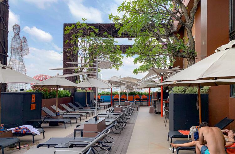サイアム アット サイアム デザイン ホテル バンコク(Siam @ Siam Design Hotel Bangkok)のプール2