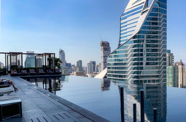 ジ オークラ プレステージ バンコク(The Okura Prestige Bangkok)のプール