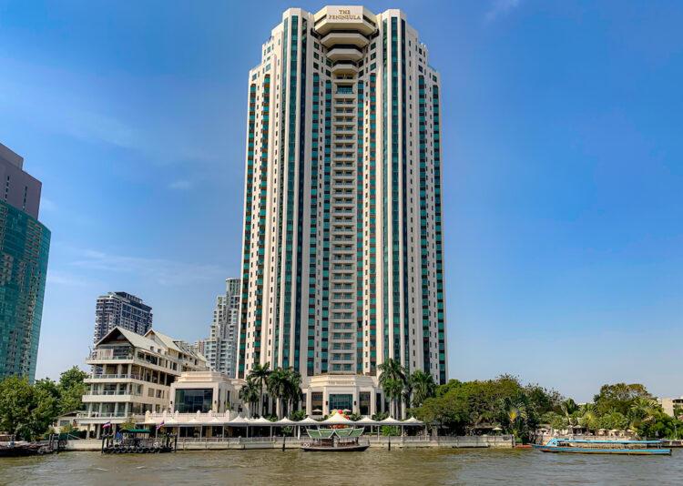 ザ ペニンシュラ バンコク(The Peninsula Bangkok)の外観