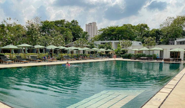 ザ スコータイ バンコク(The Sukhothai Bangkok)のプール