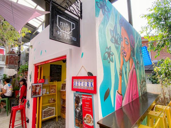 クレット島にあるトルココーヒー店