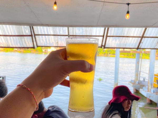 クレット島のクラフトビール店(Chitbeer)で飲んだビール