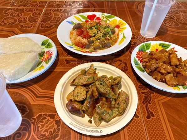 サイウア・メー・ニムで食べたタイ料理1