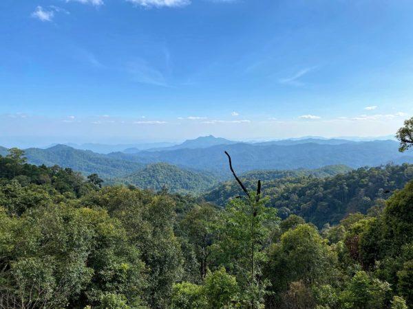 メーカンポン村のキィウフィンから見えるランパーンの景色
