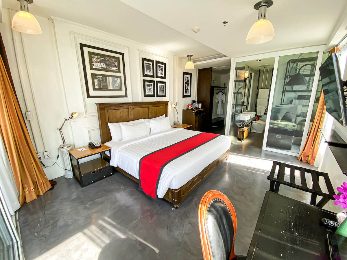 パタヤ モーダス ビーチフロント リゾート(Pattaya Modus Beachfront Resort)のデラックスオーシャンビュー客室2