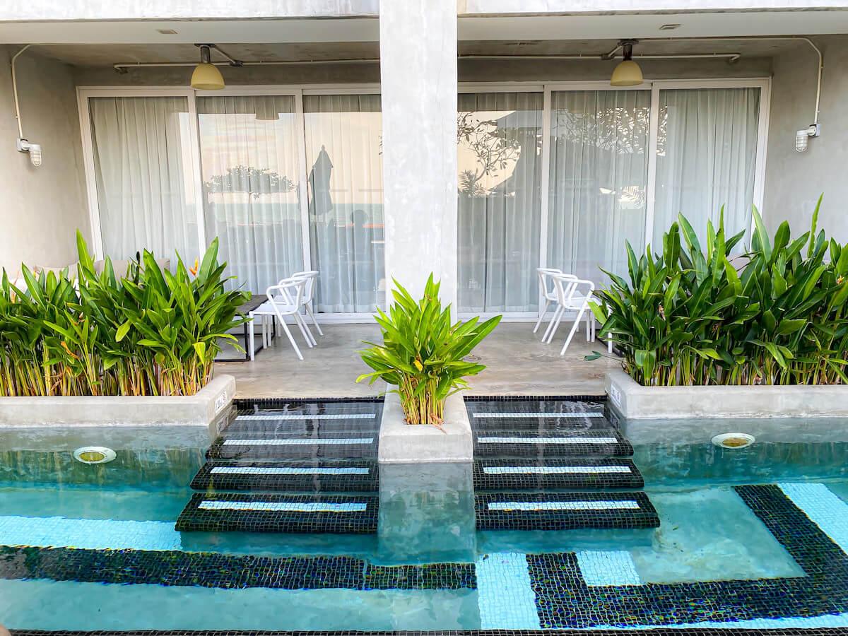 パタヤ モーダス ビーチフロント リゾート(Pattaya Modus Beachfront Resort)のプールアクセスルーム2