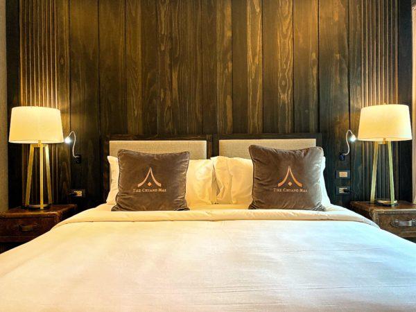 ザ チェンマイ オールドタウン ホテル(The Chiang Mai Old Town Hotel)の客室ベッド