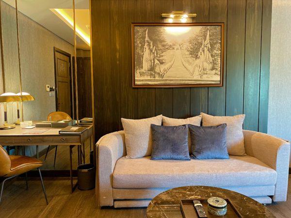 ザ チェンマイ オールドタウン ホテル(The Chiang Mai Old Town Hotel)の客室ソファー