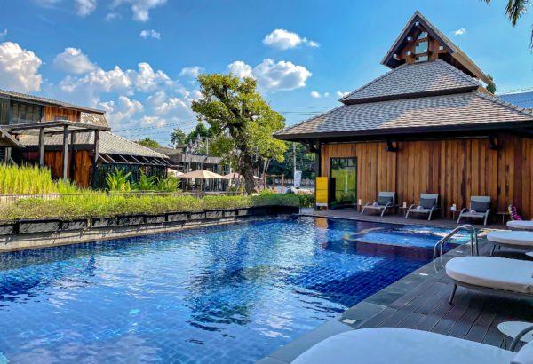 ザ チェンマイ オールドタウン ホテル(The Chiang Mai Old Town Hotel)のプール1