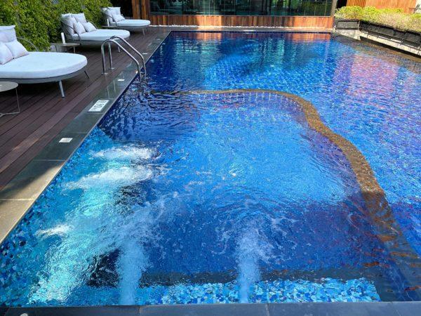 ザ チェンマイ オールドタウン ホテル(The Chiang Mai Old Town Hotel)のプールジャグジー