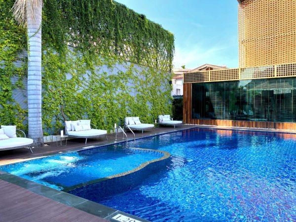 ザ チェンマイ オールドタウン ホテル(The Chiang Mai Old Town Hotel)のプール2
