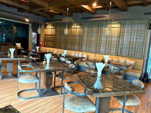ザ チェンマイ オールドタウン ホテル(The Chiang Mai Old Town Hotel)の朝食会場