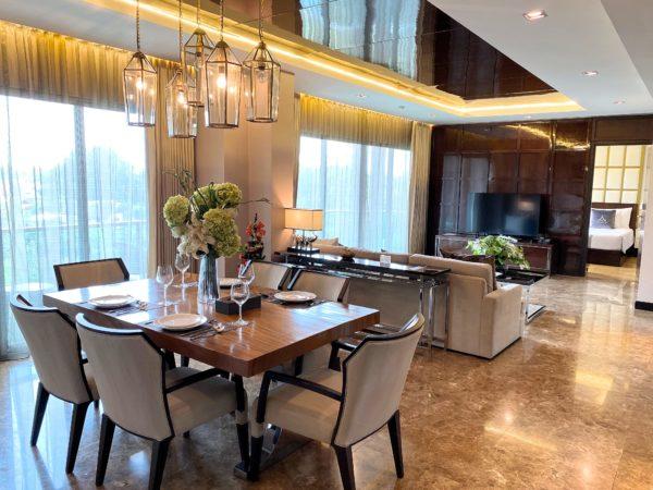 ザ チェンマイ リバーサイド(The Chiang Mai Riverside)のペントハウス 2ベッドルーム スイート