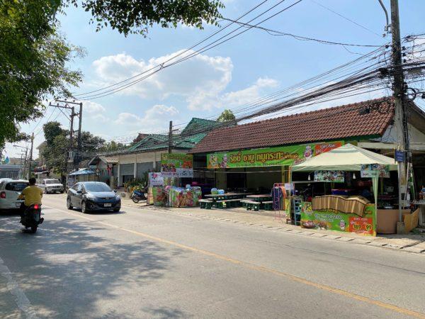ザ チェンマイ リバーサイド(The Chiang Mai Riverside)前の通り