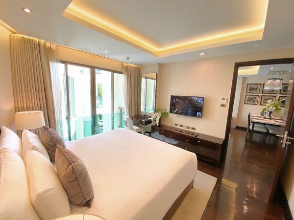 ザ チェンマイ リバーサイド(The Chiang Mai Riverside)1ベッドルーム プレミアのベッドルーム2