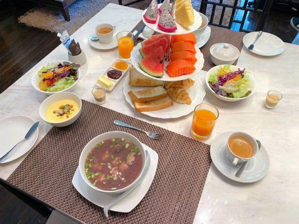 ザ チェンマイ リバーサイド(The Chiang Mai Riverside)の朝食