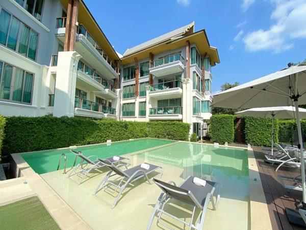 ザ チェンマイ リバーサイド(The Chiang Mai Riverside)のプール2