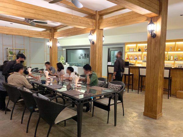 ザ チェンマイ リバーサイド(The Chiang Mai Riverside)のレストラン
