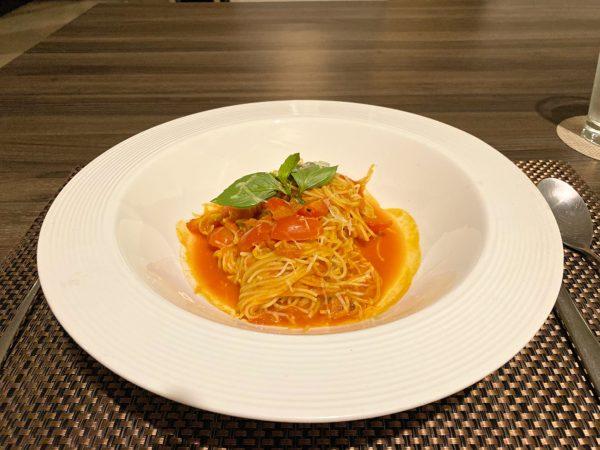 ザ チェンマイ リバーサイド(The Chiang Mai Riverside)のレストランで食べたスパゲティナポリタン