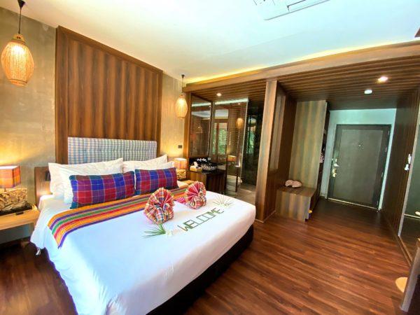 イサーン イサン ブティック リゾート バイ アンダキュラ(Isaan-Isan Boutique Resort by Andacura)の客室2