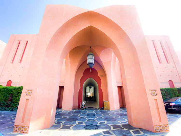 マラケシュホアヒン リゾート アンド スパ(Marrakesh Hua Hin Resort and Spa)の入り口