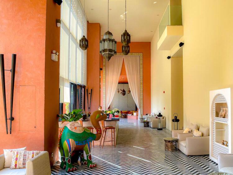 マラケシュホアヒン リゾート アンド スパ(Marrakesh Hua Hin Resort and Spa)のロビー2