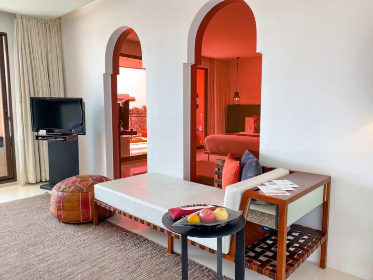 ジュニアスイートプールビュー(Junior Suite Pool View)のベッドルーム2