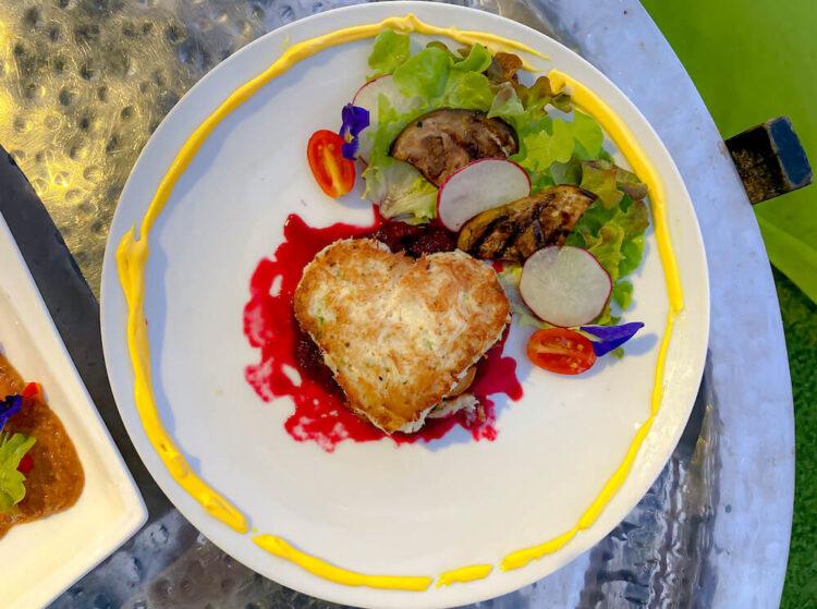レストランで食べた料理(Ocean of Love)
