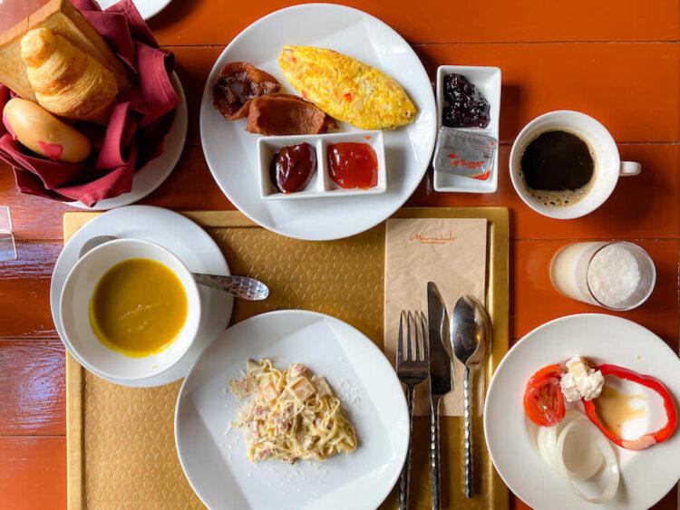 マラケシュホアヒン リゾート アンド スパ(Marrakesh Hua Hin Resort and Spa)の朝食