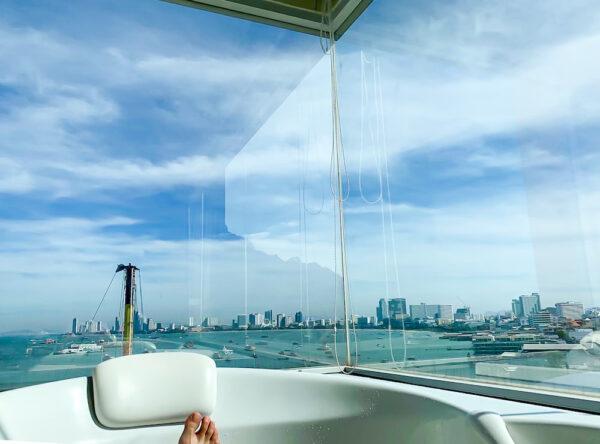 バリハイ ベイ レジデンス(Balihai Bay Residence)のジェットバスから見るパタヤビーチ3