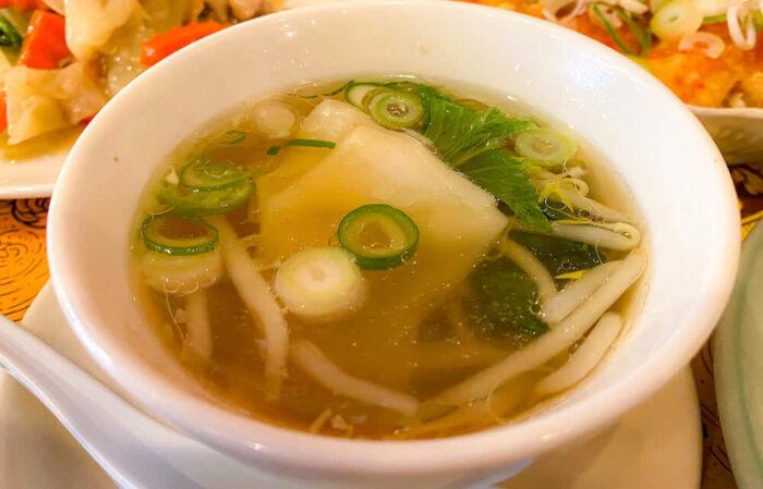 ドゥワンディーで食べたスープ