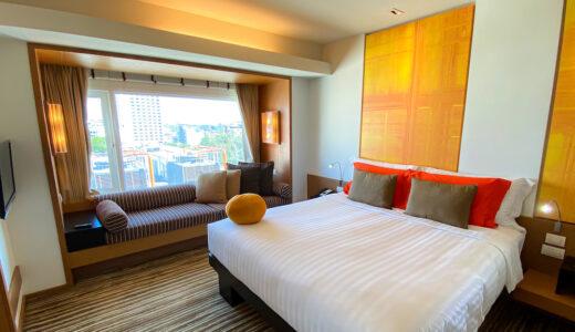 デュシットD2チェンマイは最も立地が良くて安心感のあるホテル。クラブラウンジもサービスが充実していた。