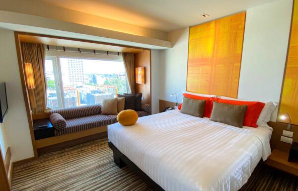 デュシット D2 ホテル(Dusit D2 Chiang Mai Hotel)のスタジオスイート キングベッド1