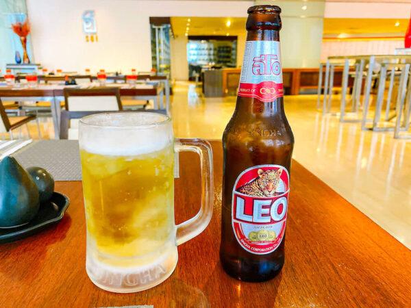 デュシット D2 ホテル(Dusit D2 Chiang Mai Hotel)で飲んだビール