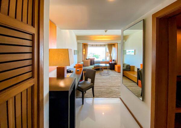 デュシット D2 ホテル(Dusit D2 Chiang Mai Hotel)のスタジオスイート キングベッド2