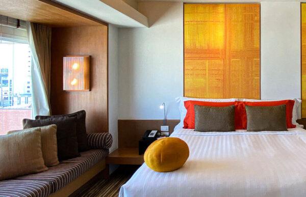 デュシット D2 ホテル(Dusit D2 Chiang Mai Hotel)のスタジオスイート キングベッド6