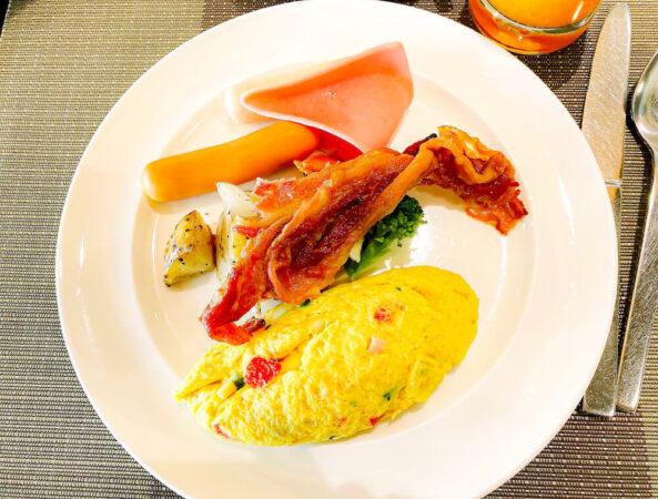 デュシット D2 ホテル(Dusit D2 Chiang Mai Hotel)で食べた朝食