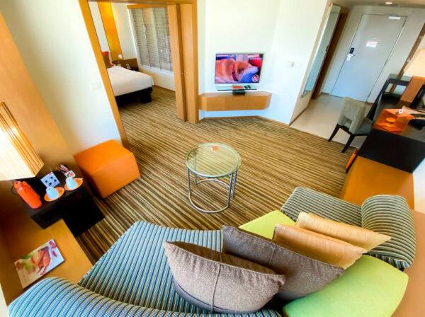 デュシット D2 ホテル(Dusit D2 Chiang Mai Hotel)のスタジオスイート キングベッド7