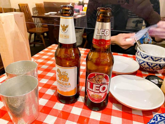ガムランディーで飲んだビール