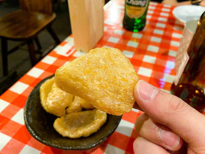 ガムランディーで食べたカオ キャップ クン
