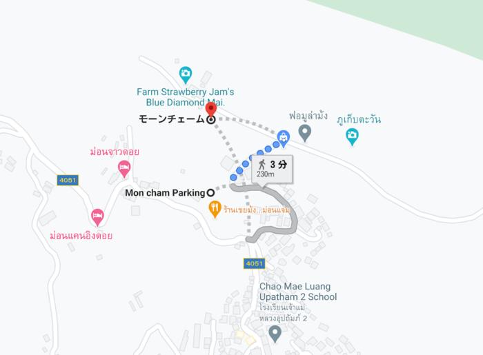 モンチェムの地図