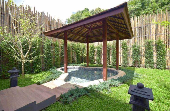 オンセン アット モンチェム(Onsen @ Moncham)の露天風呂