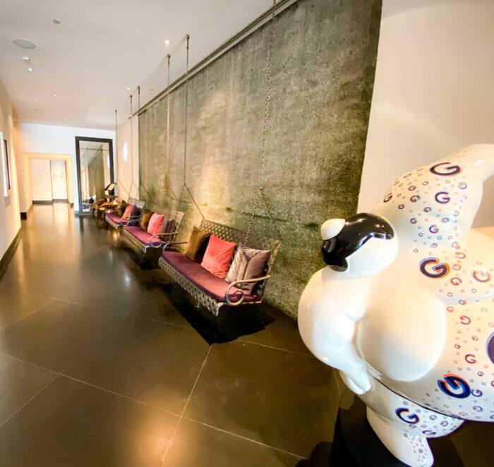 プルマン バンコク ホテル G(Pullman Bangkok Hotel G)のレセプションロビー2