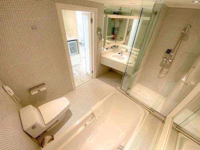 プルマン バンコク ホテル G(Pullman Bangkok Hotel G)のGデラックスダブルルームのバスルーム1