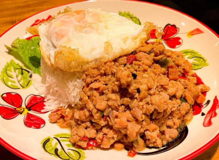 タイ料理「カオサン」で食べたガパオライス