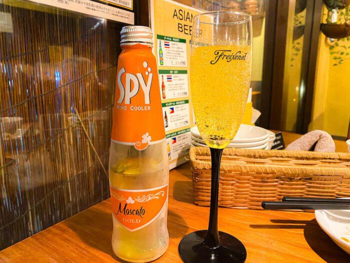 タイ料理「カオサン」でSPY