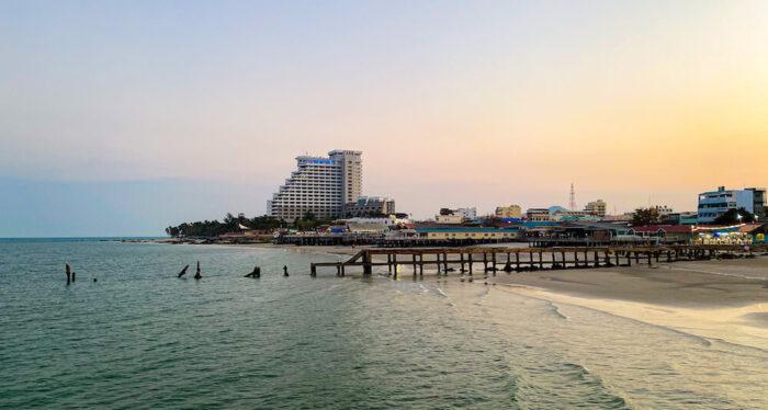 ハイシア ホアヒン ホテル(Hisea Huahin Hotel)周辺のビーチ