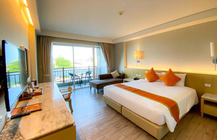 ハイシア ホアヒン ホテル(Hisea Huahin Hotel)の客室1