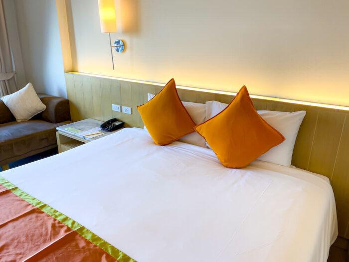 ハイシア ホアヒン ホテル(Hisea Huahin Hotel)の客室ベッド