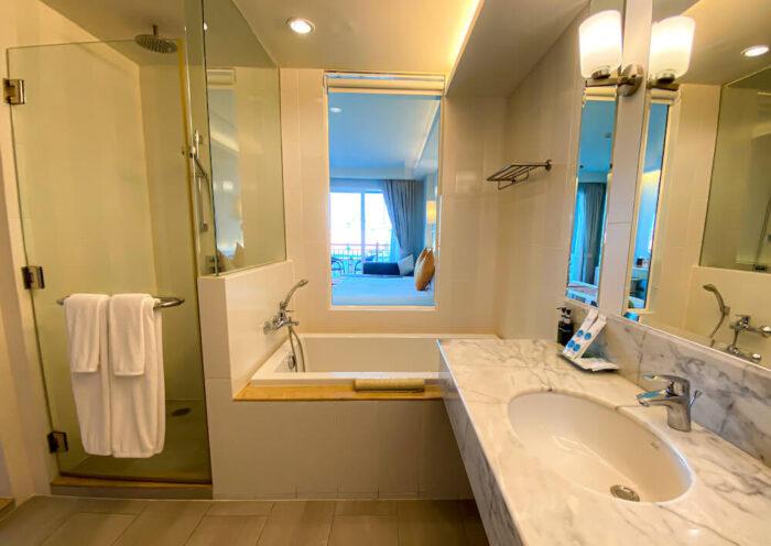 ハイシア ホアヒン ホテル(Hisea Huahin Hotel)のバスルーム